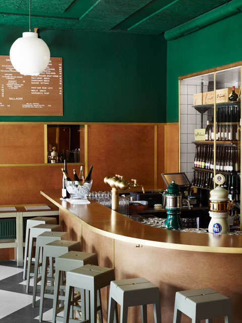 Bar central stockholm uglycute for Brilliant cafe interior design ideas